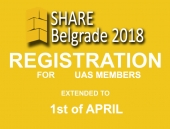 FREE REGISTRATION UNTIL 01.04.2018