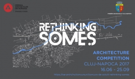 Launch of International Competition Rethinking the Somes River, Cluj-Napoca, Romania