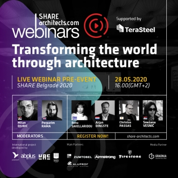 SHARE Architects launches the first SHARE Pre-Event Webinar for SHARE Belgrade 2020.